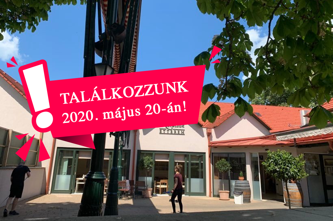 Hamarosan újra vár a Kistücsök! Nyitás: 2020.05.20.