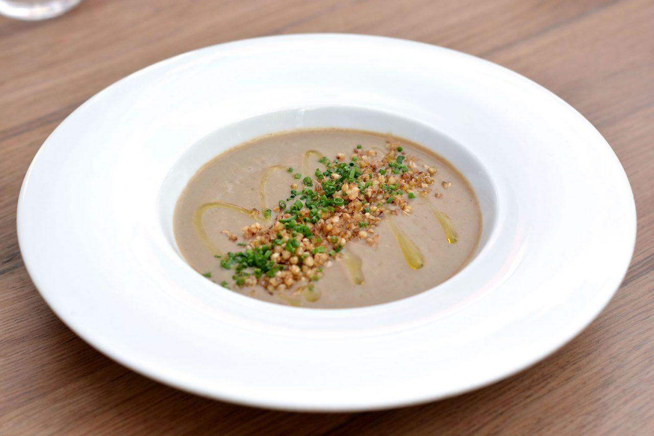Forrest mushroom soup